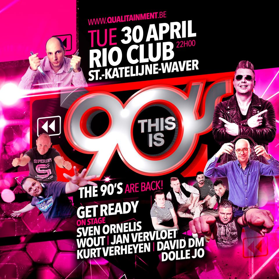 This is 90's at Rio Club