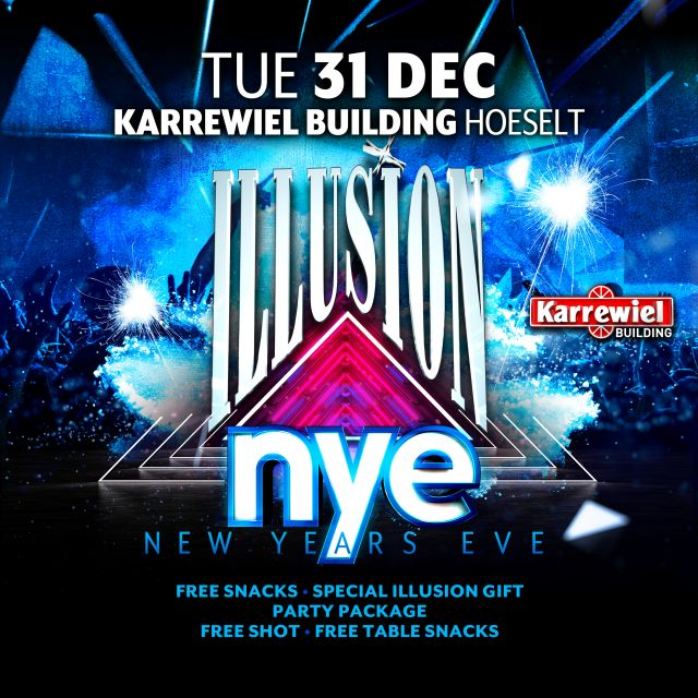 Illusion NYE at Karrewiel